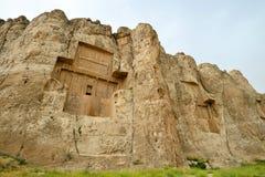 Naqsh-e Rustam, an ancient necropolis in Iran. Stock Photo