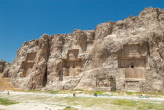 Naqsh-e Rustam ancient necropolis, Pars Province, Iran Royalty Free Stock Photo