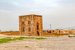 Naqsh-e Rustam Cube Photographie stock libre de droits