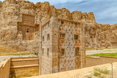 Naqsh-e Rustam Cube de Zoroaster Image libre de droits