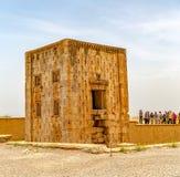 Naqsh-e Rustam Cube di Zoroastro Immagini Stock Libere da Diritti