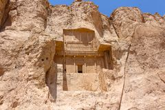 Naqsh-e Rustam, der Iran Grab von Artaxerxes I lizenzfreie stockfotografie