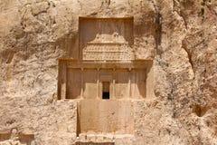 Naqsh-e Rustam, der Iran Grab von Darius ich Darius das große stockbild