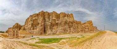 Naqsh-e Rustam Panorama Royalty Free Stock Image