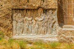 Naqsh-e Rustam relief Royalty Free Stock Photos