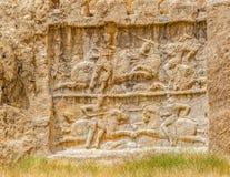 Naqsh-e Rustam relief Stock Images