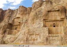 Naqsh-i Rustam, Persepolis, Shiraz, der Iran lizenzfreies stockfoto