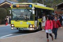 Nara City Bus Lizenzfreie Stockfotografie