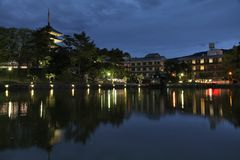 Nara, Giappone Immagini Stock Libere da Diritti