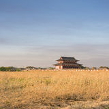 Nara Imperial Palace. (Heijo-kyo), the famous attraction is one of the UNESCO World Heritage Sites of Nara royalty free stock images