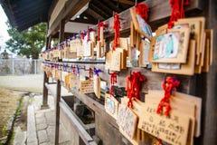 NARA, JAPÃO - 12 DE MARÇO DE 2012: O salão principal de Todaiji, o Daibutsud imagens de stock royalty free