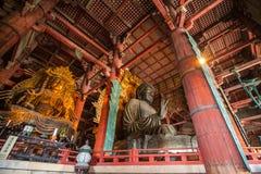 NARA, JAPÃO - 12 DE MARÇO DE 2012: Templo de Todaiji (lugar de grande Fotos de Stock