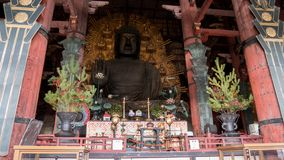 The great Buddha of Nara royalty free stock photo
