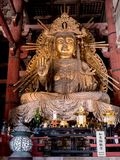 The great Buddha of Nara stock photo
