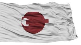 Nara Japan Prefecture Flag aislada Imagen de archivo