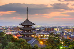 Nara, Japan Skyline Royalty Free Stock Photos