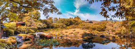 Nara, Japan - UNESCO World Heritage Site. Isuien Garden from Mei Stock Photo