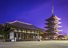 Nara at Kofukuji Temple Royalty Free Stock Photo