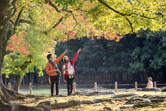 Nara is a major tourism destination Royalty Free Stock Photography