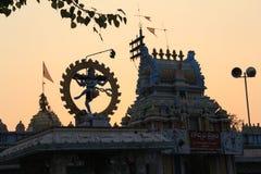 Nata Raju temle. Hindu temple Nata Raju Lordsiva stock image