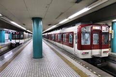 Nara Station Arkivfoto