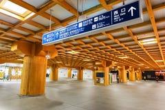 Nara Station i Nara, Japan Arkivfoton