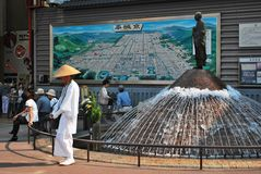 Nara station in Japan Stock Photography