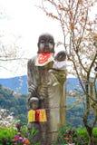 Nara tempel i vår Arkivfoton