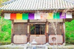 Nara tempel i vår Arkivfoto