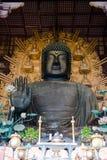 Nara Temple, Buda, curso de Japão imagens de stock royalty free