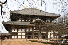 Nara temple, japan Royalty Free Stock Photo