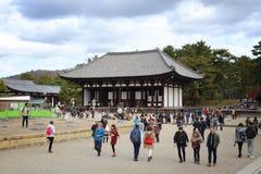 Nara temple Stock Image