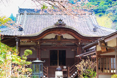 Nara temple in spring Stock Images