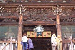 Nara temple in spring Royalty Free Stock Photo