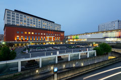 Nara Train Station Royaltyfri Foto