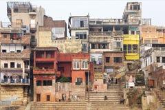 Narad Ghat, Варанаси, Индия Стоковое фото RF