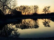 Narad , Slovakia , Lake. Lake , sunset , nature Stock Photo