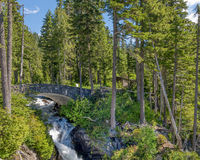 Narada Falls, Mount Rainier National Park, WA Royalty Free Stock Images
