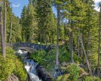 Narada Falls, Mount Rainier National Park, WA Royalty Free Stock Images