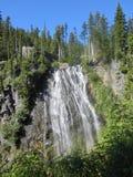 Narada Falls Mount Rainier National Park Washingto. One of the most beautiful national park in washington state united srates stock photo