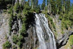 Narada Falls Mount Rainier National Park Washingto. One of the most beautiful national park in washington state united srates royalty free stock photo