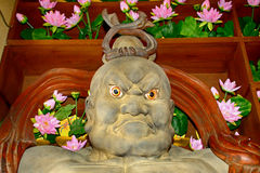Naraen Kongo at Hase Dera Kannon Buddhist Temple, Kamakura, Japa Royalty Free Stock Photos