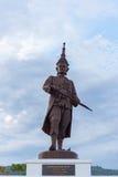 Narai国王由泰国皇家军队修建 免版税库存照片