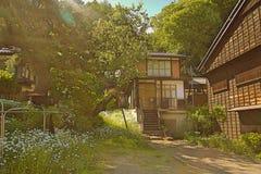 Narai是一个小镇在长野 库存图片