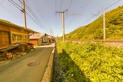 Narai软的焦点是一个小镇在长野县日本 图库摄影