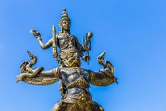 Narai and Garuda statue. Sky background Stock Photo