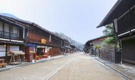 Narai Juku Town in Winter Royalty Free Stock Photography