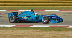 Narain Karthikeyan (Team India) Stock Afbeeldingen