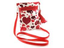 Naramienna torba dla dziewczyn Obrazy Stock