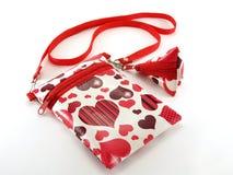 Naramienna torba dla dziewczyn Zdjęcia Stock
